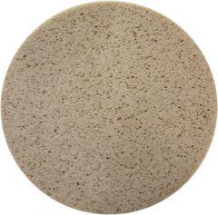49900 Schwammscheibe mit Klett, braun 350 mm