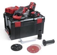 Akku Supraflex SE 125 18.0-EC/5.0 Set 18 Volt 5.0 Ah Li-Ion Schleif Spezialist 125 mm