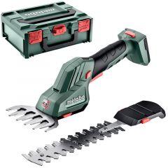 601608840 PowerMaxx SGS 12 Q Akku Strauch- und Grasschere 12 V ohne Akku und Ladegerät in Metabox
