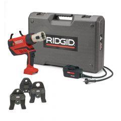 RP350-C Kit Standard 12 - 108 mm Presswerkzeug 230V + 3 Backen V 15-18-22