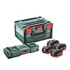 BASIS-SET 4X LIHD 10AH + ASC 145 DUO + METABOX 685143000