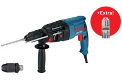 06112A4001 GBH 2-26 F Bohrhammer 830w 2.7J SDS-Plus + 5-teiliges SDS-plus Bohrset