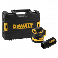 DCW210NT Exzenterschleifer 125 mm 18 Volt 5.0 Ohne Akku und Ladegerät
