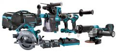 DK0128G601 Spezial Set - 6 Maschinen 40 Volt max 4.0 Ah Li-Ion in Handwerkertasche