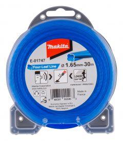 Mähfaden blau 1,65mm x 15 mtr für Akku-Sensen und -Trimmer