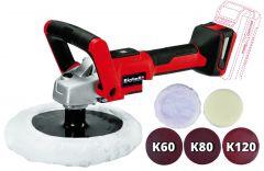 CE-CP 18/180 Li E-SoloAkku-Polier-/Schleifmaschine 18 Volt ohne Akku oder Ladegerät