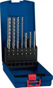 Expert SDS plus-7X Hammerbohrer-Set, 5/6/6/8/8/10/12mm, 7-tlg.