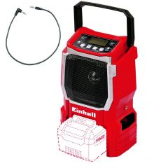 TE-CR 18 Li-SoloAkku-Radio 18 Volt ohne Akku oder Ladegerät