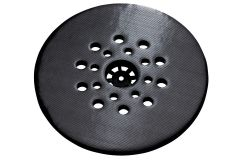 Schleifteller mit Kletthaftung 225 mm, hart LSV
