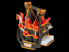 12-l-Stoff-Werkzeugtaschen für Elektriker, 280mm×220mm×300mm 4750FB3-12