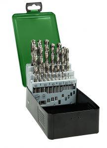 Metallbohrer HSS-G DIN 338 Kassette 25 Stück