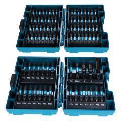 E-03109 Impact Black-Bit-Set 25/50 mm - 90 - tlg in 2 Bit-Boxen