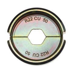 4932451758 R22 Cu 50 Presseinsatz für hydraulisches Akku-Presswerkzeug