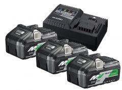 UC18YSL3WB3 BoosterPack -3 x BSL36B18 Multivolt-Akku 36V 4.0Ah / 18V 8,0Ah Li-Ion + UC18YSL3 Schnellladegerät