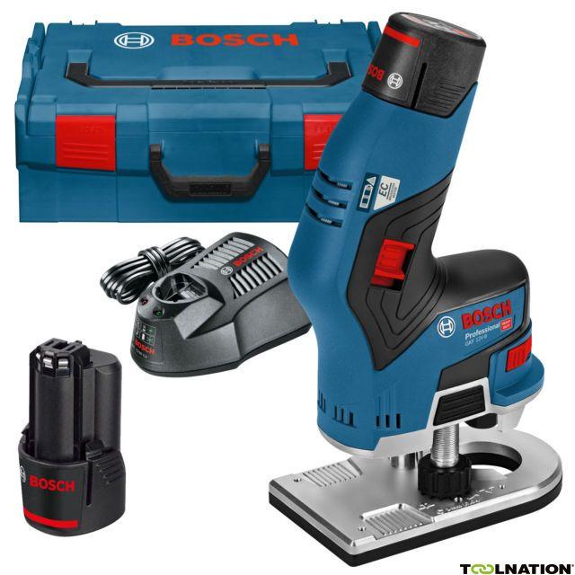 Bosch Gkf 12v 8 Professional Akku Kantenfräse 12v 3 0ah 06016b0000