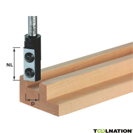 Nutfräser-Wendeplatten HW S8 D10/25 WP Z1 491079