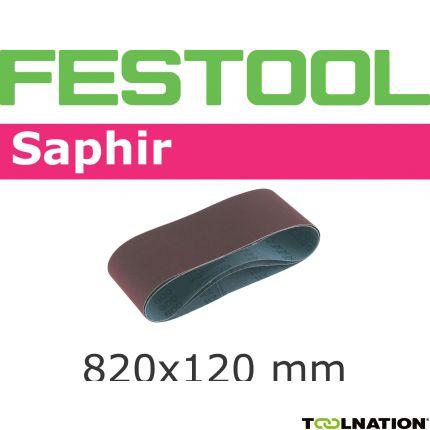 Schleifband 820x120-P180-SA/10 488086