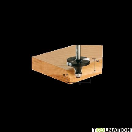 Abrundfräser HW S8 D22,7/R5 KL 491012