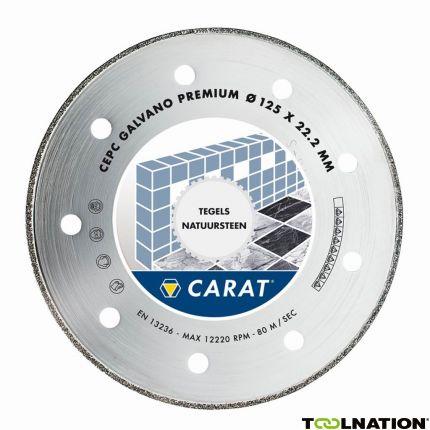 CEPC125300 Diamanttrennscheibe GALVANO PREMIUM 125x22,2MM, TYP CEPC