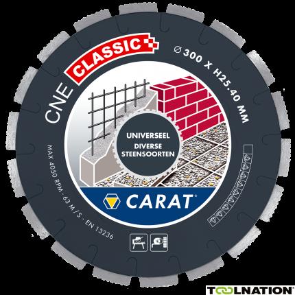 CNEC300400 DiamanttrennscheibeUNIVERSAL CNE CLASSIC 300x25,4MM