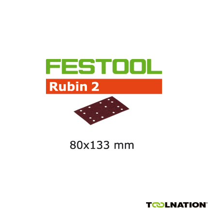 Schleifstreifen STF 80X133 P150 RU2/50 499051