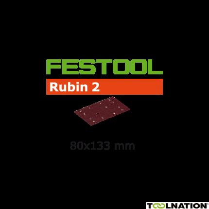 Schleifstreifen STF 80X133 P180 RU2/50 499052