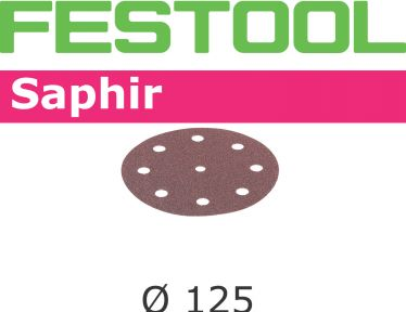 Schleifscheiben STF D125/8 P50 SA/25 493126
