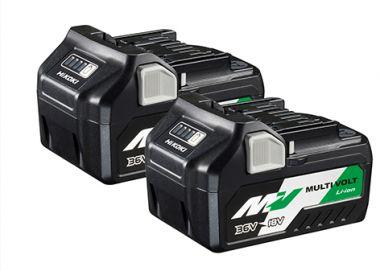 TwinPack - BSL36A18 Multivolt-Akku 36 V 2,5 Ah / 18 V 5,0 Ah Li-Ion