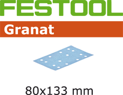 Schleifstreifen STF 80x133 P180 GR/10 497130