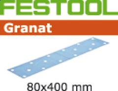 Schleifstreifen STF 80X400 P100 GR/50 499631