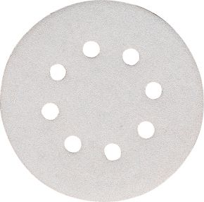Schleifblatt 125 mm Korn 180 Weiß 10 Stk.
