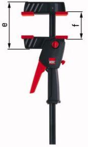 DUO16-8 DuoKlamp DUO Einhandklemme 0-160mm