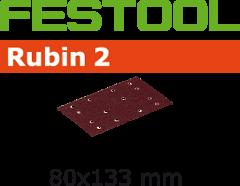 Schleifstreifen STF 80X133 P80 RU2/10 499056
