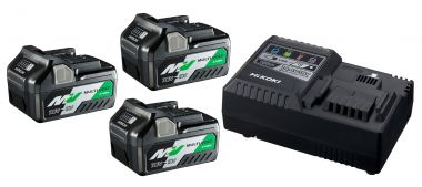 UC18YSL3WA3 BoosterPack - 3 x BSL36A18 Multivolt-Akku 36 V 2,5 Ah / 18 V 5,0 Ah Li-Ion + UC18YSL-Schnellladegerät