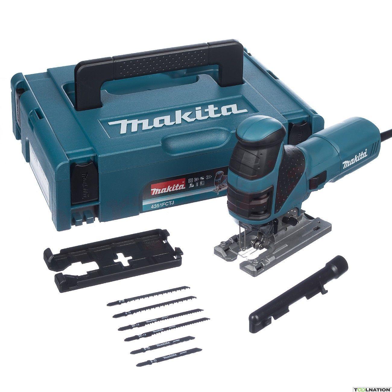 Makita 4350FCTJ Pendelhubstichsäge im MAKPAC//  mit LED