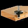 Abrundfräser HW S8 D19,1/R3 KL 491010