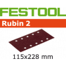 Schleifstreifen STF 115X228 P120 RU2/50 499034