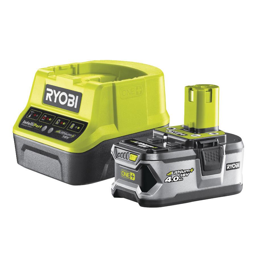 Ryobi ONE+ Akku & Ladegerät RC18120 140 Starterset (18 V, 4